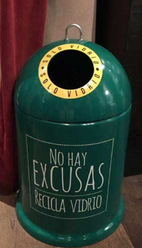 Imagen 9. No hay excusas ecovidrio