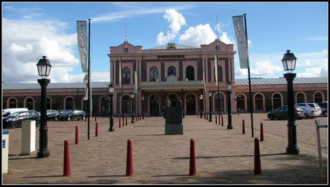 Fachada del Spoorwegmuseum