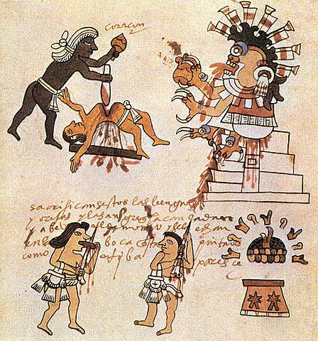 Sacrificio humano mesoamerica