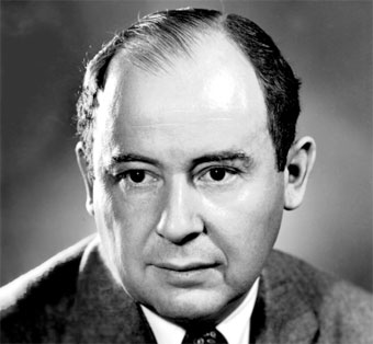 John von Neumann realizó contribuciones en física cuántica, análisis funcional, economía, análisis numérico, etc.