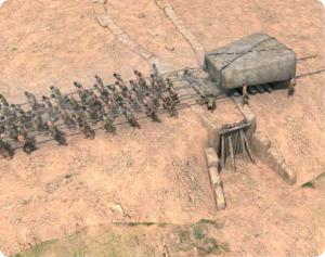 Construcción del monumento: finalización