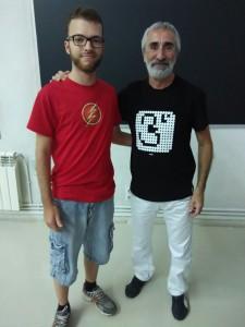 Pedro Alegría, genial matemago.