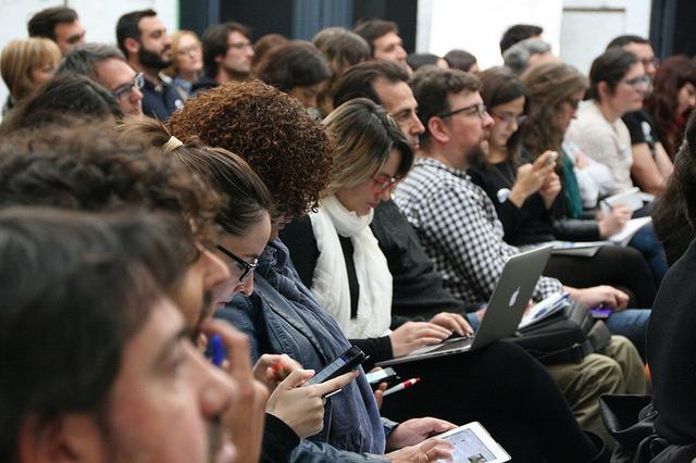 Foto 1: Asistentes a Ciencia en Redes